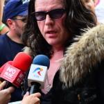 Ian Astbury (The Cult) în dialog cu presa, după concertul de la Rock The City 2012