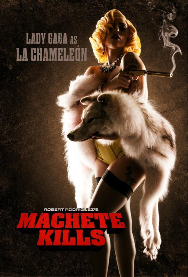 Lady Gaga în filmul Machete Kills
