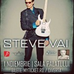 posterul concertului steve vai