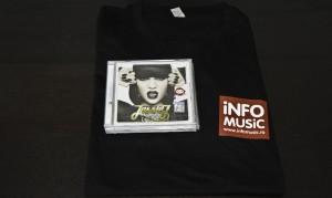 Unul dintre cele 3 premii: un tricou Info Music și un CD Jessie J
