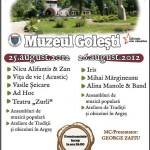Pro Istoria Fest - Muzeul Golești - Afiș
