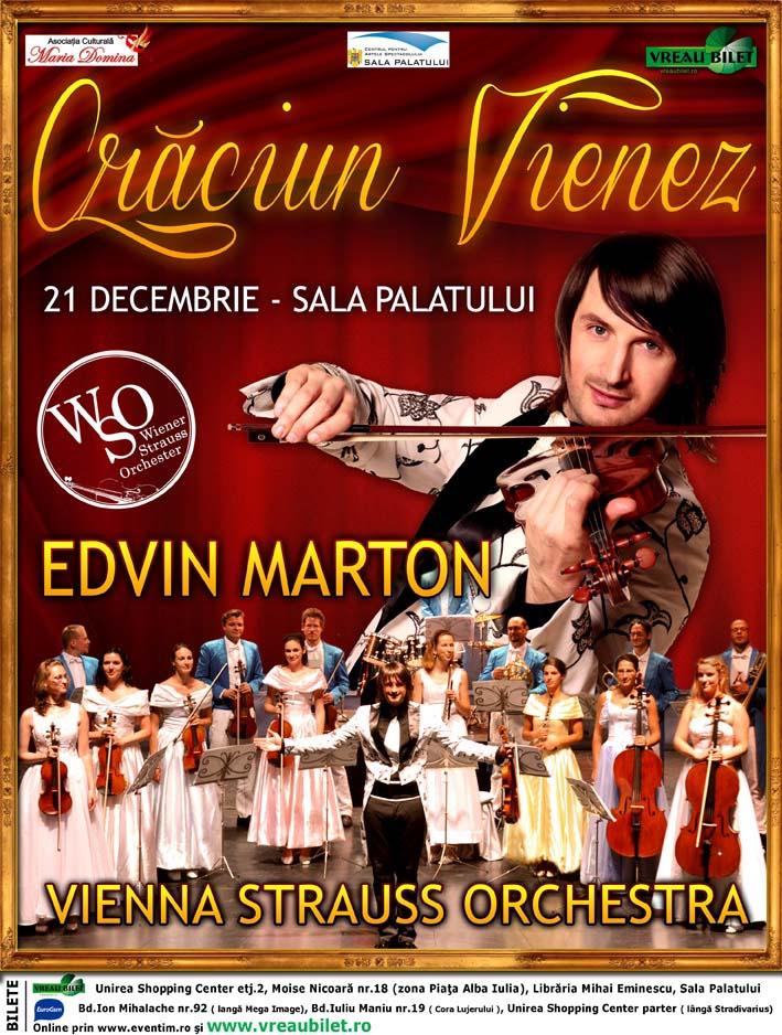 Edwin Marton Craciun Vienez 21 decembrie Sala Palatului