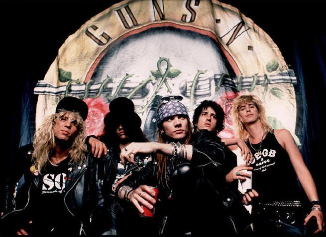 Guns N Roses - original line-up