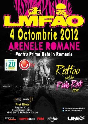 Poster eveniment LMFAO