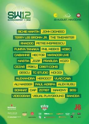 Poster eveniment Sunwaves Festival 12
