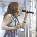 Charlotte Wessels in concert Delain la ARTmania Festival 2012