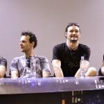 Trupa EDGUY in conferinta de presa la ARTmania Festival 2012