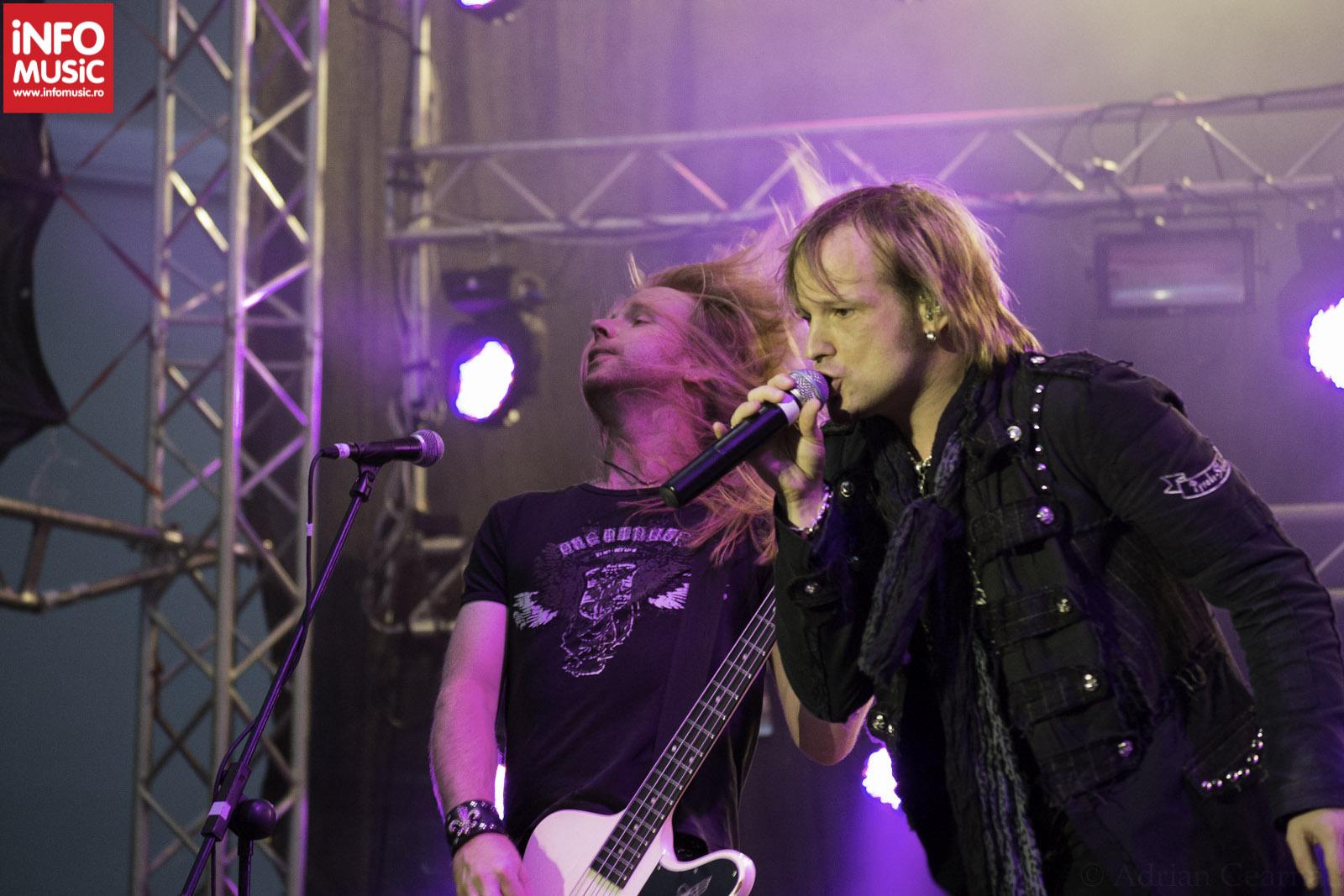 Trupa EDGUY in concert la ARTmania Festival 2012