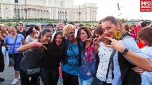 Public la concertul Lady Gaga din București