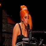 Lady Gaga în concert la București (proiectie)