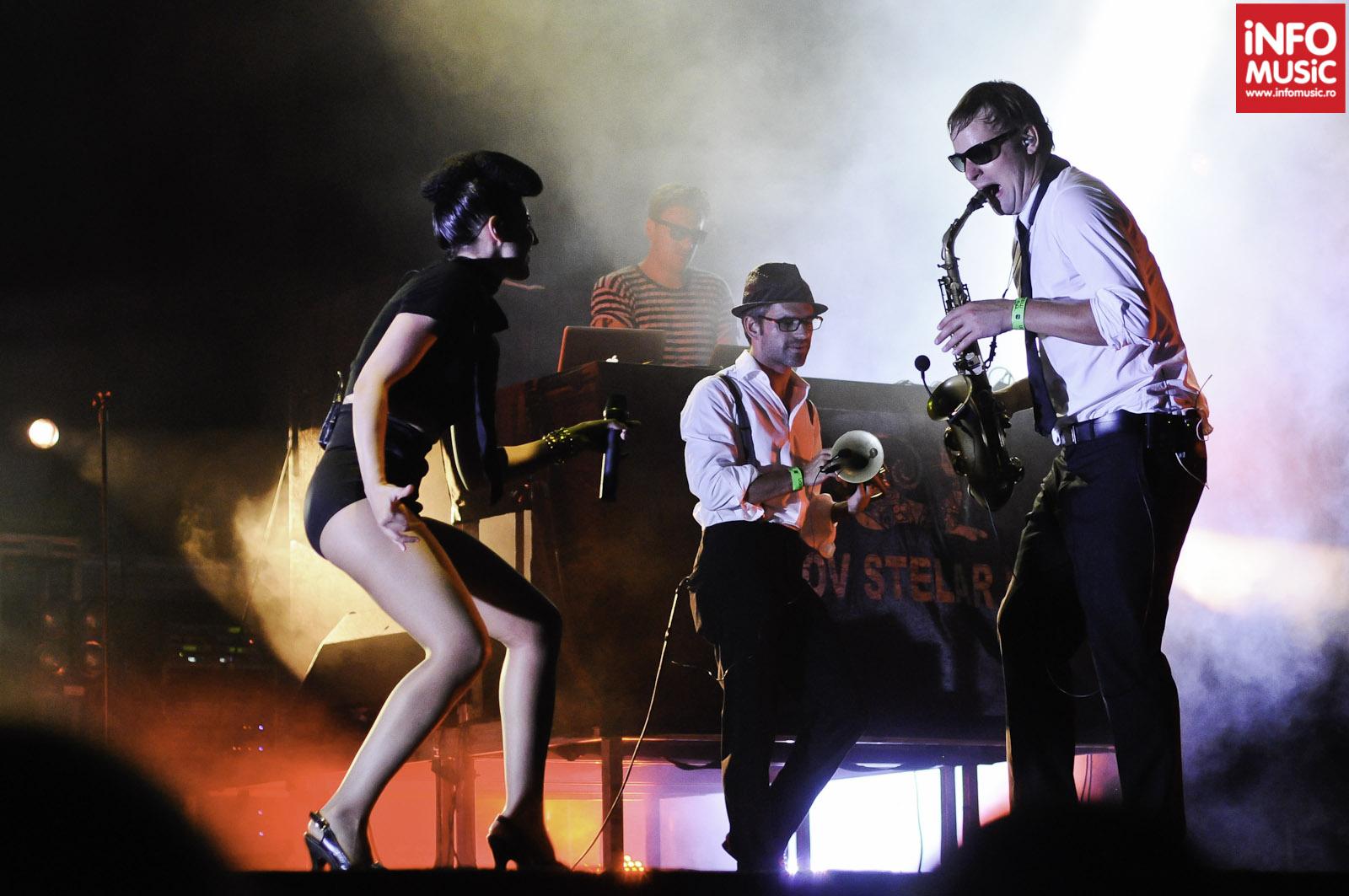 Parov Stelar Band la The Mission Dance Weekend 2012