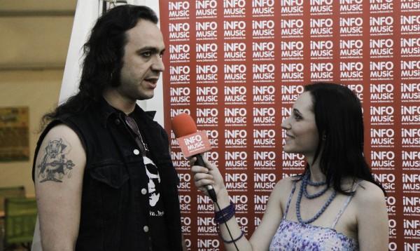 Fernando Ribeiro (Moonspell) intervievat de Alexandra Necula (InfoMusic.ro)