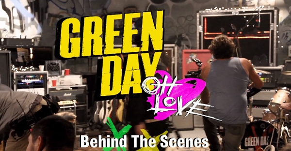 Green Day - Oh Love - Behind The Scenes