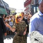 Lady Gaga a ajuns în România