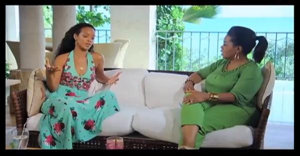 Rihanna intervievată de Oprah