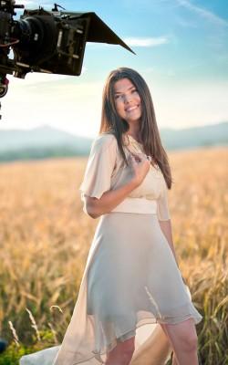 Making-of - Paula Seling filmeaza videoclipul melodiei My Spirit Flies
