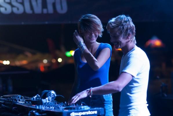 DJ Liviu & Deysa la Peninsula 2012