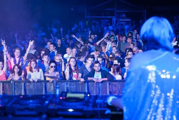 Publicul Sister Bliss (Faithless DJ set) la Peninsula 2012