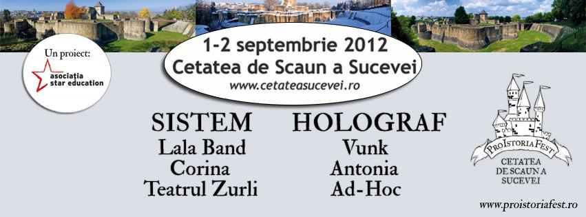 Pro Istoria Fest - Cetatea de Scaun a Sucevei