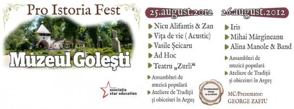 Pro Istoria Fest - Muzeul Golești