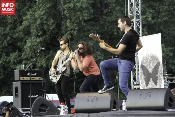 Changing Skins în concert la Pro Istoria Fest Râșnov