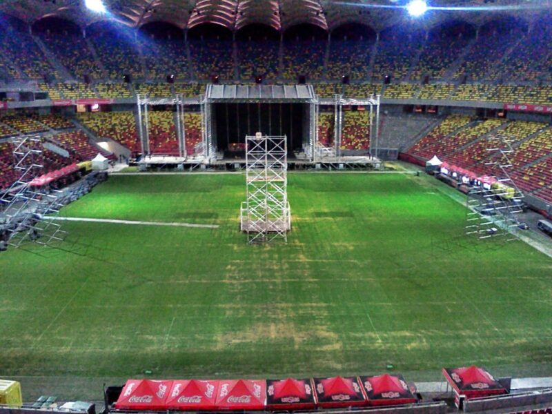 Scenă Red Hot Chili Peppers - Arena Națională