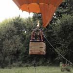 Urcarea cu balonul Orange la Summer Well 2012