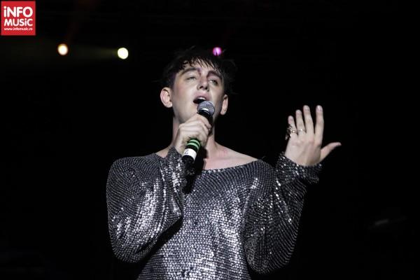 Patrick Wolf în concert la Summer Well - Buftea, 2012