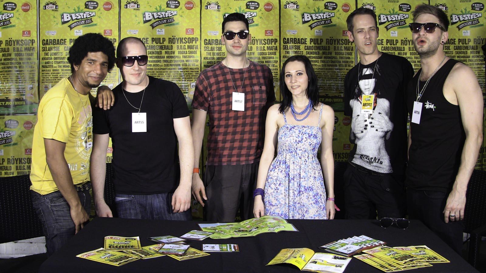 The Qemists - interviu InfoMusic.ro la B'Estfest 2012