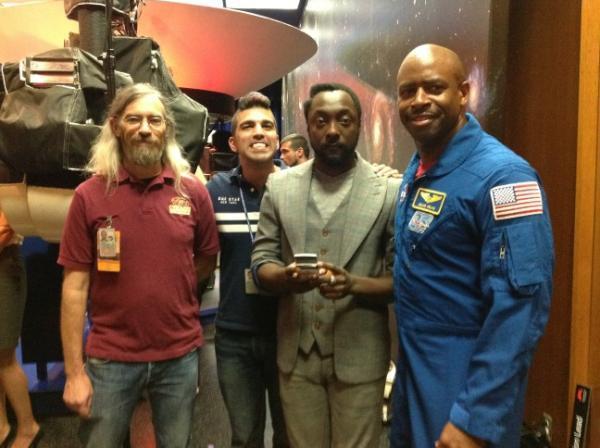 Will.i.am la NASA