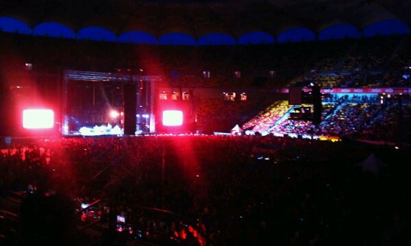 Arena Nationala in asteptarea trupei RHCP