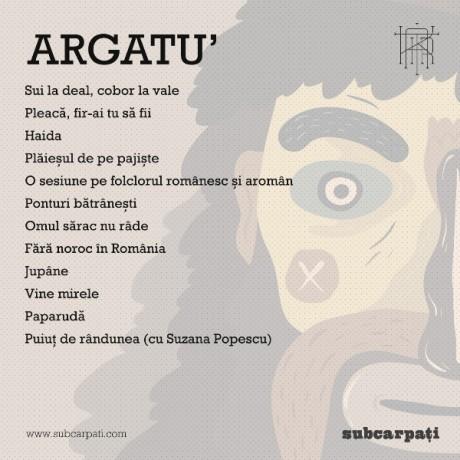 Argatu` - B cover