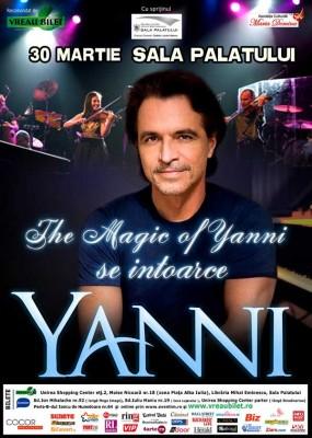 Yanni - concert in 2013