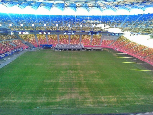 Arena Natională dupa concertul RHCP