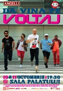 Concert Voltaj, Sala Palatului, 10-11 octombrie 2012