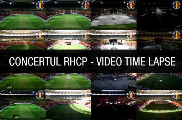 Un video timelapse de la concertul RHCP