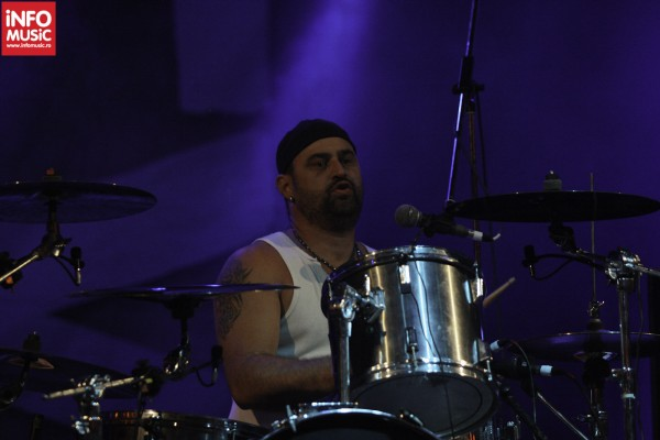 Florin Cvasa in concert Rezident EX la Arenele Romane