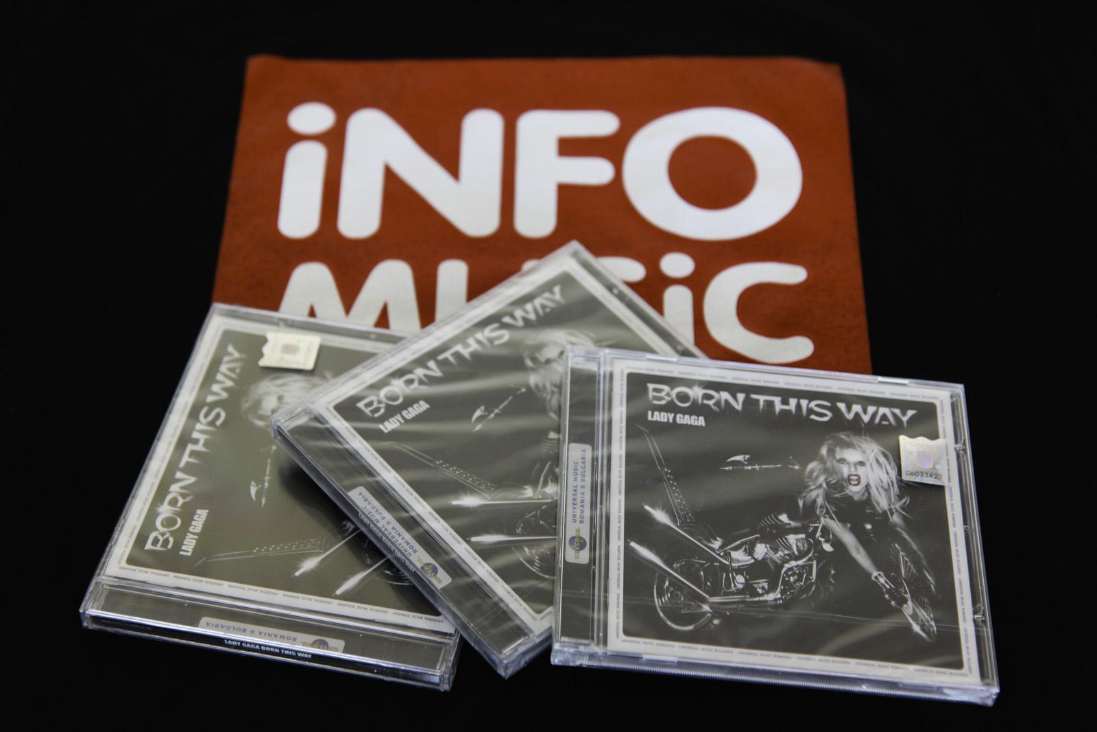 Castiga un CD Born This Way si un tricou InfoMusic