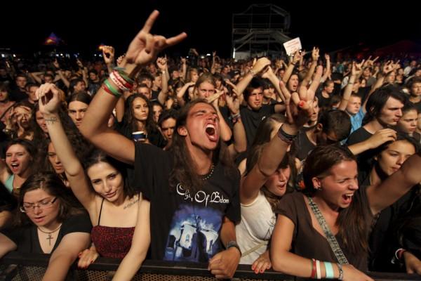 Publicul rock la Subscribe - Peninsula 2012