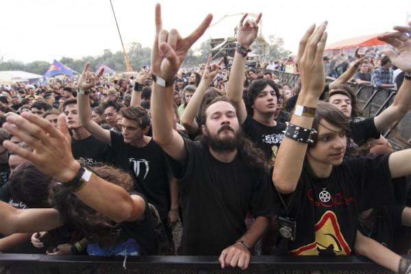 Publicul rock la Peninsula 2012