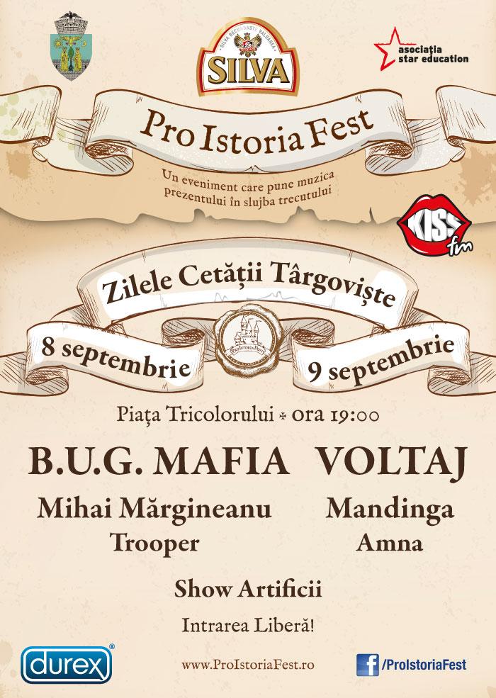 Pro Istoria Fest Targoviste 8-9 septembrie