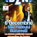 BZN concert de craciun la sala palatului