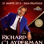 Concert Richard Clayderman la Bucuresti Sala Palatului 21 martie 2013