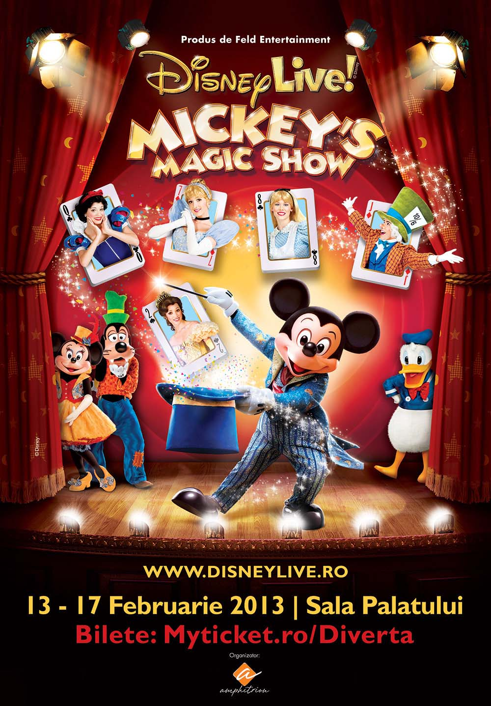 Disney Live! Mickey's Magic Show la Sala Palatului