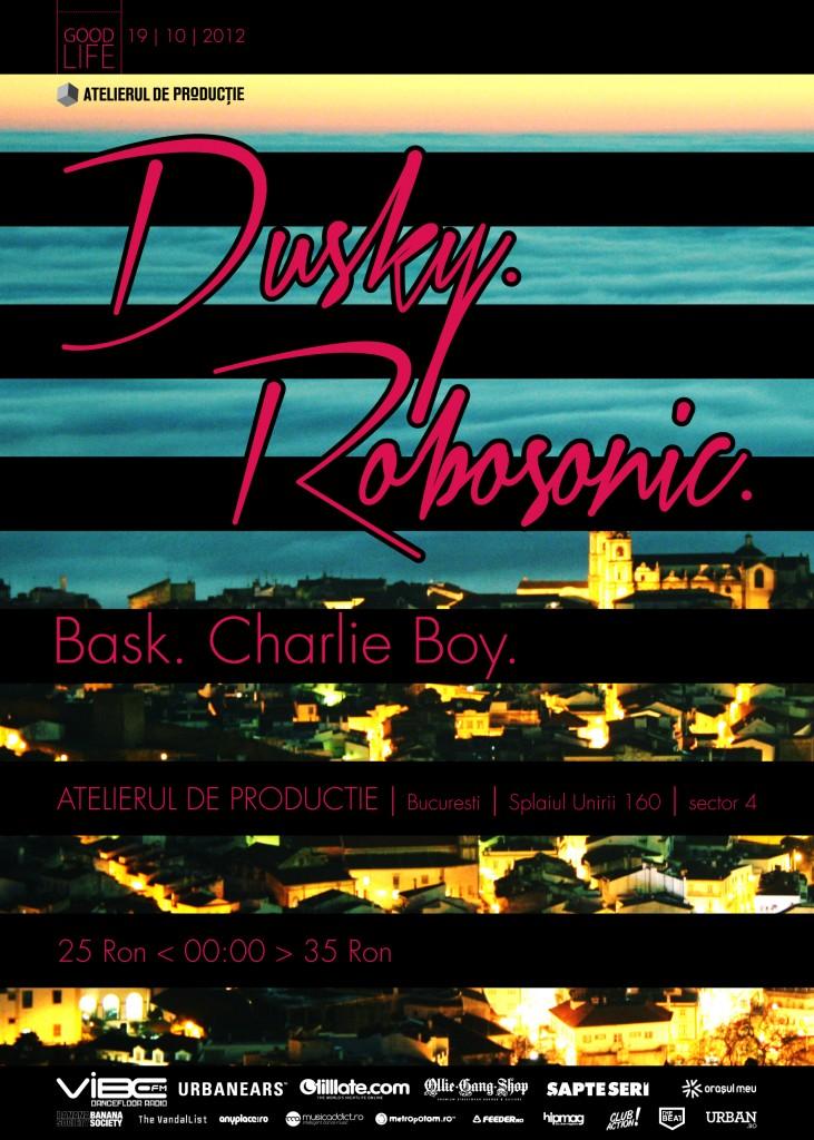 Dusky & Robosonic la Atelierul de Producție