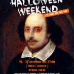 Halloween Shakespeare Bar 26 27 octombrie