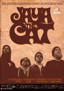 Jaya The Cat - Afiș concert București 2012