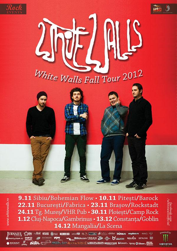 afis white walls - fall tour 2012