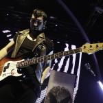 Adi Cotoara, basist Changing skins - concertul de lansare a albumului de debut - 13 octombrie 2012