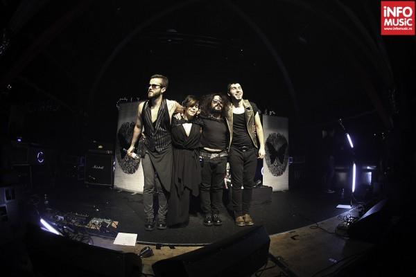 Changing skins - concertul de lansare a albumului de debut - 13 octombrie 2012